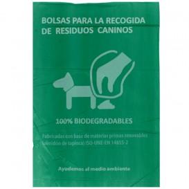 Plastic zak voor uitwerpselen van honden 100% bio 18x26cm (3000 stuks)