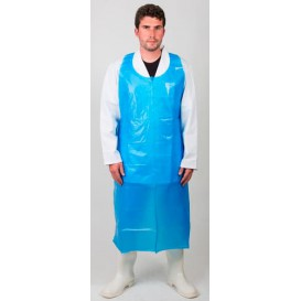 Tablier Polyéthylène 20 Microns 120x76cm Bleu (1000 Utés)