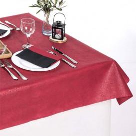 Niet geweven PLUS Tafelkleed bordeauxrood 100x100cm (500 stuks)