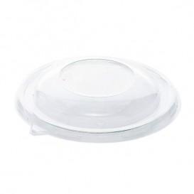 Plastic Deksel RPET Kristal voor Kom Ø17cm (50 stuks)