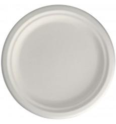 Assiette en Canne à Sucre Blanc Ø155mm (50 Unités)