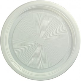 Assiette Amido Milho PLA Plate Blanc Ø170 mm (425 Utés)