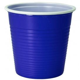 Gobelet Plastique PS Bicolore Bleu 230ml (30 Unités)