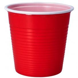 Gobelet Plastique PS Rouge 230ml (30 Unités)