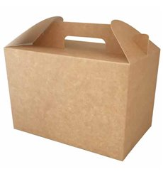 Boîte à Menu Kraft 225x145x150mm (25 Utés)