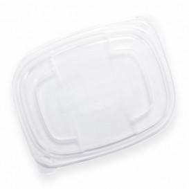 Plastic Deksel transparant Container PP 800/1000ml 21,5x17x2cm (320 stuks)