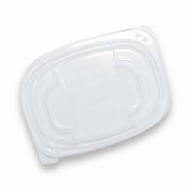 Plastic Deksel transparant Container PP 400/600ml 19x14x2cm (480 stuks)