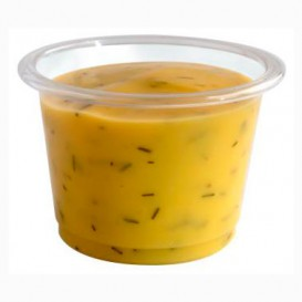 Pot à Sauce PLA Transparent 30ml (100 Utés)