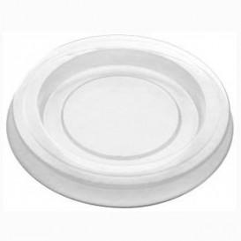Couvercle pour Pot à Sauce PLA Transparent 30ml (100 Utés)