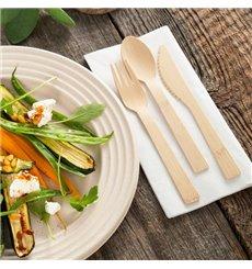 Couteau en Bambou 17cm (50 Unités)
