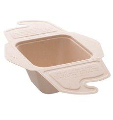 Boîte Canne à Sucre MenuBox 13x13x7cm 500ml. (300 unités)