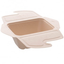 Boîte Canne à Sucre MenuBox 17x13x7cm 750ml. (50 unités)