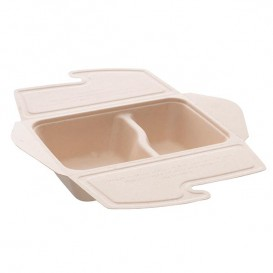 Boîte Canne à Sucre MenuBox 2C 21x15x5cm 800ml. (200 unités)