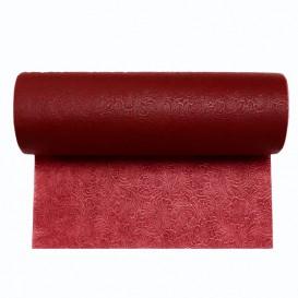 Niet geweven PLUS Tafelkleed rol bordeauxrood 1,2x50m P40cm (6 stuks)