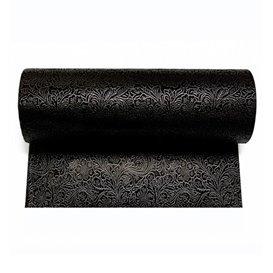 Niet geweven PLUS Tafelkleed rol zwart 1,2x50m P40cm (6 stuks)