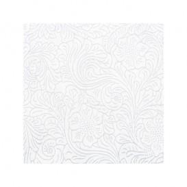 Niet geweven PLUS tafel loper wit 40x120cm (500 stuks)