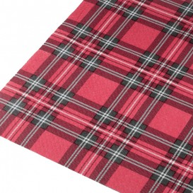 """Voorgesneden papieren tafelkleed """"Glasgow"""" 37g 1x1m (400 stuks)"""