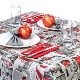 """Voorgesneden papieren tafelkleed """"Europe"""" 37g 1x1m (400 stuks)"""