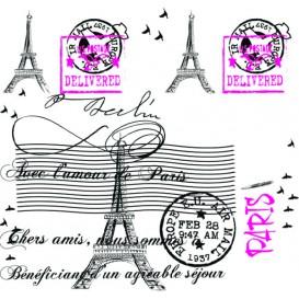 """Nappe en papier 1x1m """"Paris"""" 37g (400 Unités)"""