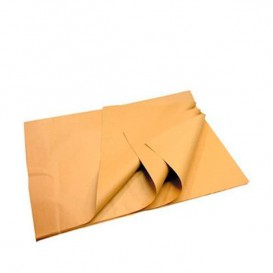 Papieren voedsel wrap Manila bruin 60x86cm 22g (400 stuks)