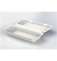 Boîte à Panini Canne à Sucre 290x273x37,5mm (50 Utés)