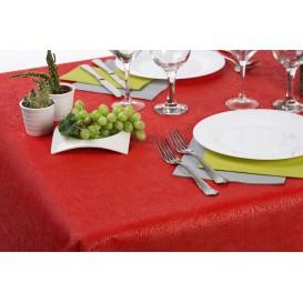 Niet geweven PLUS Tafelkleed Rood 100x100cm (100 stuks)