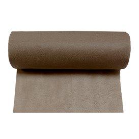 Niet geweven PLUS Tafelkleed rol Bruin 1,2x45m P40cm (6 stuks)