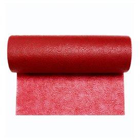 Niet geweven PLUS Tafelkleed rol Rood 1,2x45m P40cm (6 stuks)
