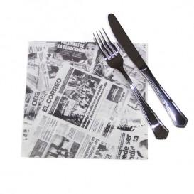 """Serviette Papier """"Presse"""" 40x40cm (600 Unités)"""