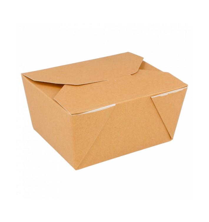 Boîte Carton Américaine Naturel 19,7x14x9cm 2880ml (160 Utés)