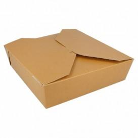 Boîte Carton Américaine Naturel 21,7x21,7x6cm 2910ml (35 Utés)