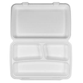 Suikerriet Gescharnierd Panini Container 3C 38x48,3x6,15cm (50 stuks)