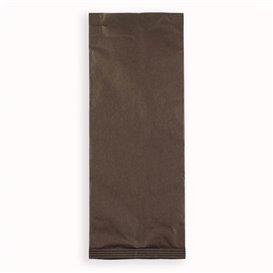 Enveloppe Bestekhouder met Servet Bruin (125 stuks)