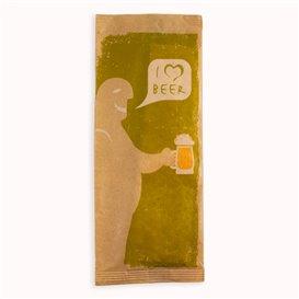 "Enveloppe Bestekhouder met Servet ""I Love Beer"" (1000 stuks)"