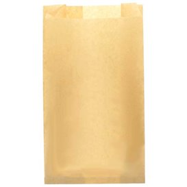 Sachet Hamburger Ingraissable Kraft 14+7x24cm (250 Utés)