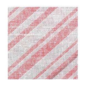 "Papieren servet dubbel punt ""Barlovento Rood"" 40x40cm (50 stuks)"