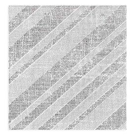 """Serviette Papier molletonnée """"Barlovento"""" Noir 40x40cm (50 Utés)"""