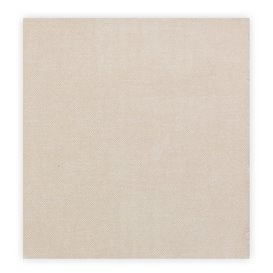"""Papieren servet dubbel punt """"Cow Boys Crème"""" 40x40cm (50 stuks)"""