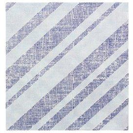 "Papieren servet dubbel punt ""Barlovento Blauw"" 40x40cm (50 stuks)"