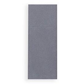 Serviette Kangourou en Papier Gris 30x40cm (30 Unités)