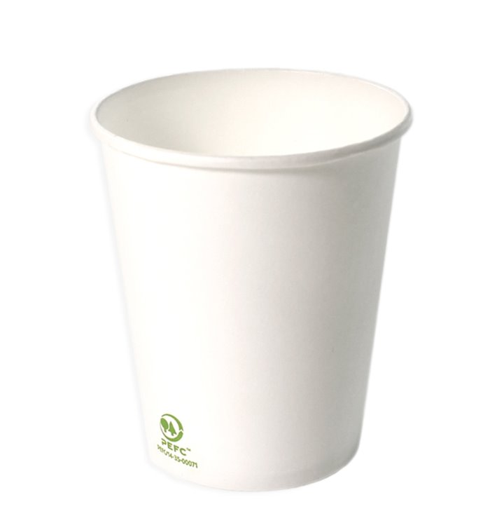 Gobelet Carton Blanc 6Oz/180ml Ø7,0cm (100 Unités)