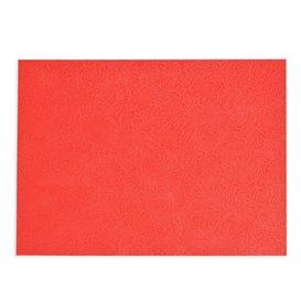Set de Table en Non-Tissé PLUS Rouge 30x40cm (400 Utés)
