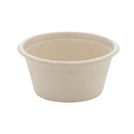 Pot en Canne à Sucre Naturel Ø6,0cm 60ml (2000 Utés)