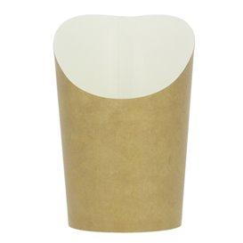 Gobelet Carton Ingraissable Effet Kraft Petit (55 Unités)