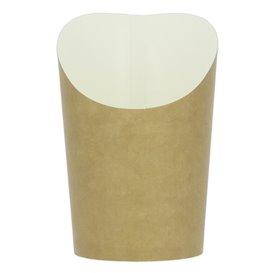 Gobelet Carton Ingraissable Effet Kraft Moyen (1320 Unités)
