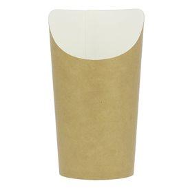 Gobelet Carton Ingraissable Effet Kraft Grand (55 Unités)