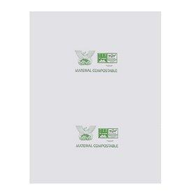 Plastic zak blok 100% biologisch afbreekbaar 27x35cm (300 stuks)