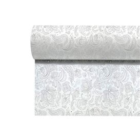 "Niet geweven Tafelkleed Rol 1,2x50m ""Mandala"" Grijs 50g/m² V40cm (4 Stuks)"