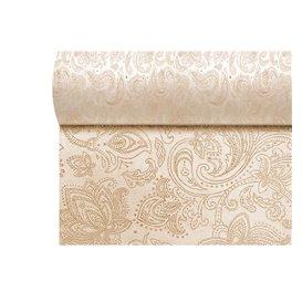 "Niet geweven Tafelkleed Rol 1,2x50m ""Mandala"" Crème 50g/m² V40cm (4 Stuks)"