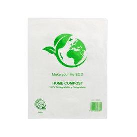 Plastic zak 100% biologisch afbreekbaar 16x24cm (5000 stuks)